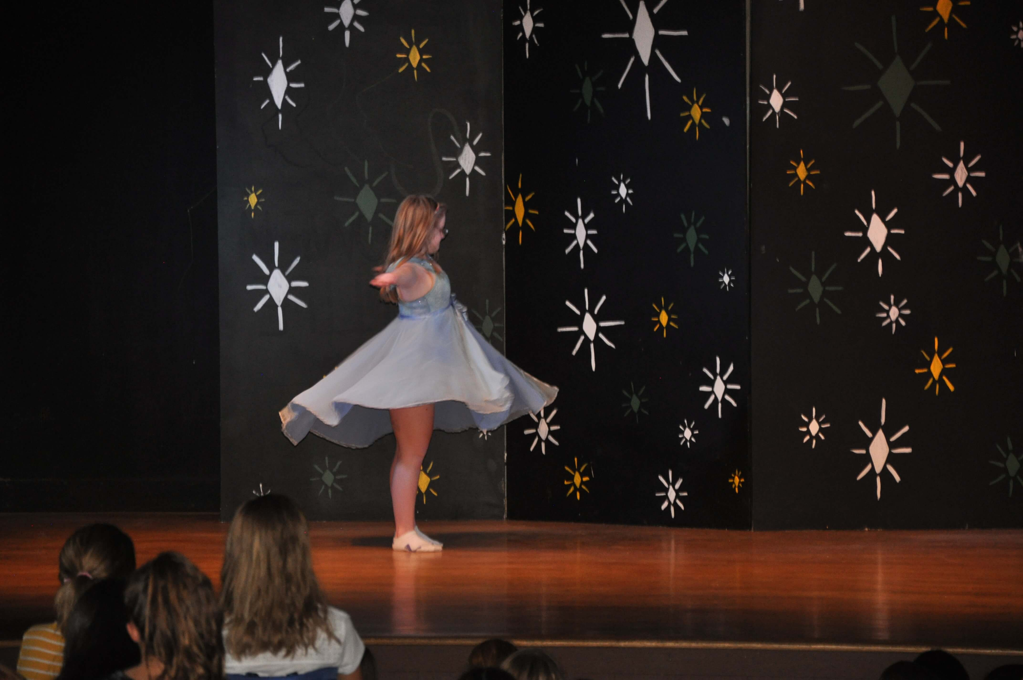 Lele's solo performance at camp!