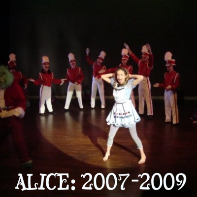 The Wonder of Alice:  Once Upon A Holiday Flash Back